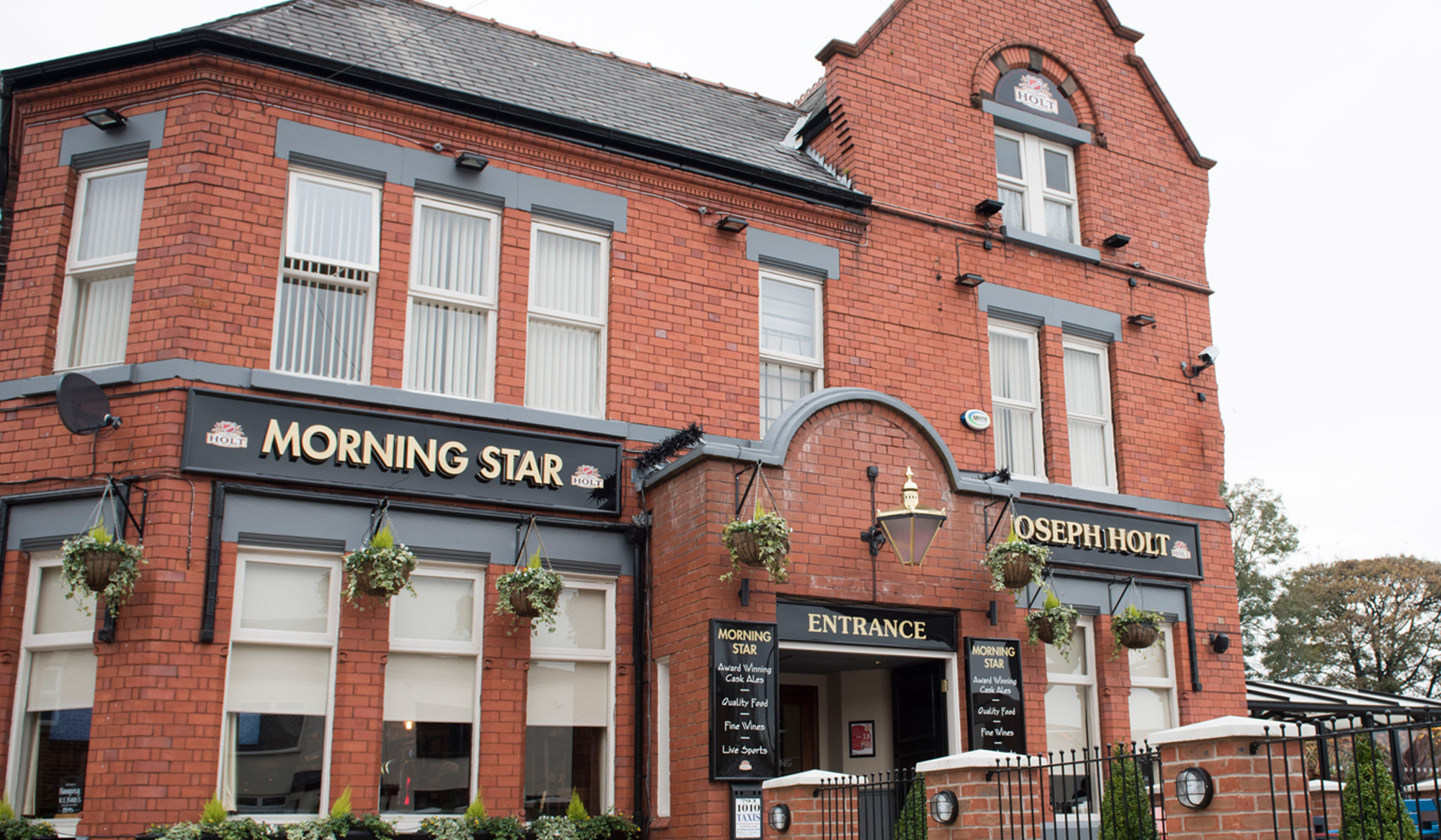 morning star pub in wardley swinton