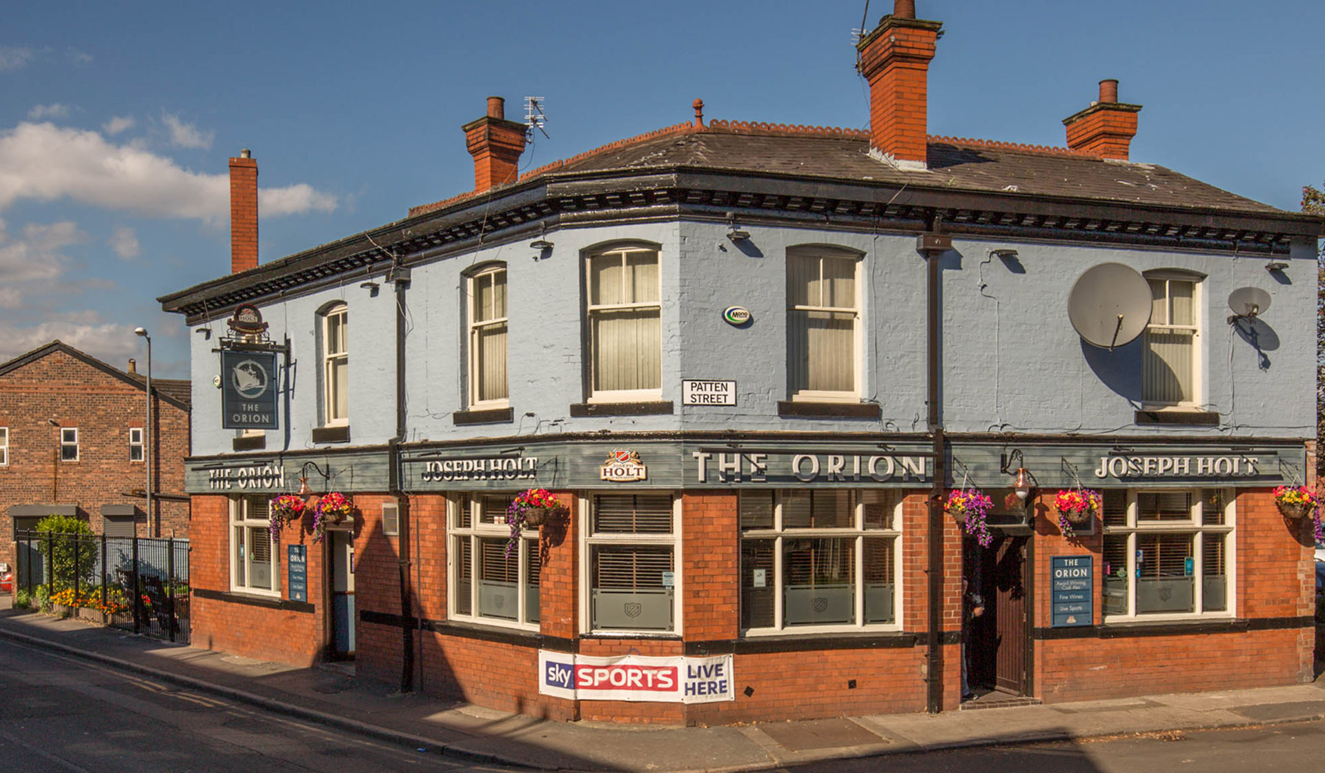 Orion featured pub withington