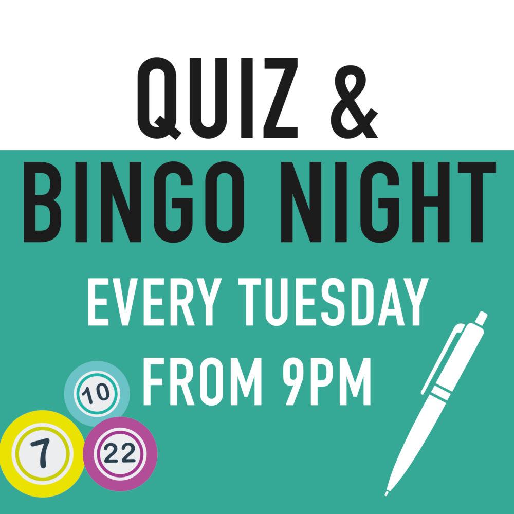 Quiz & Bingo Night Blue Bell Bury