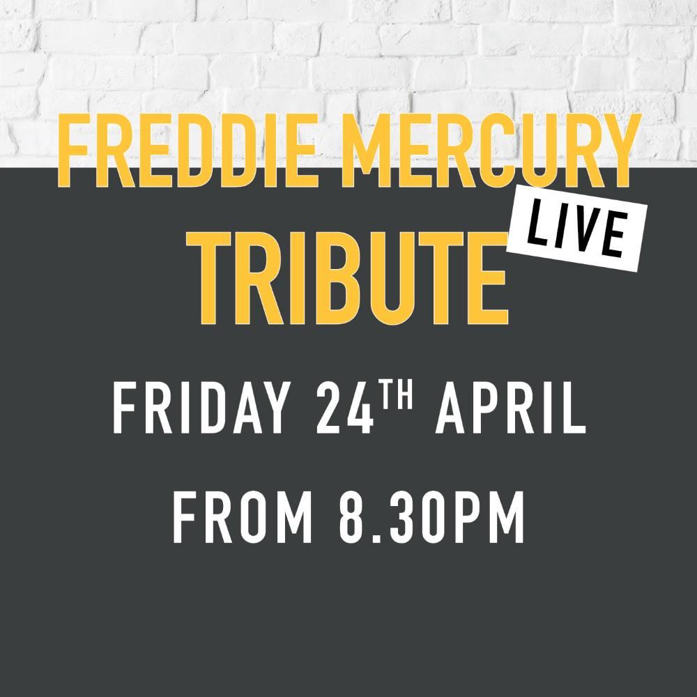 Tributes norfolk arms Freddie mercury
