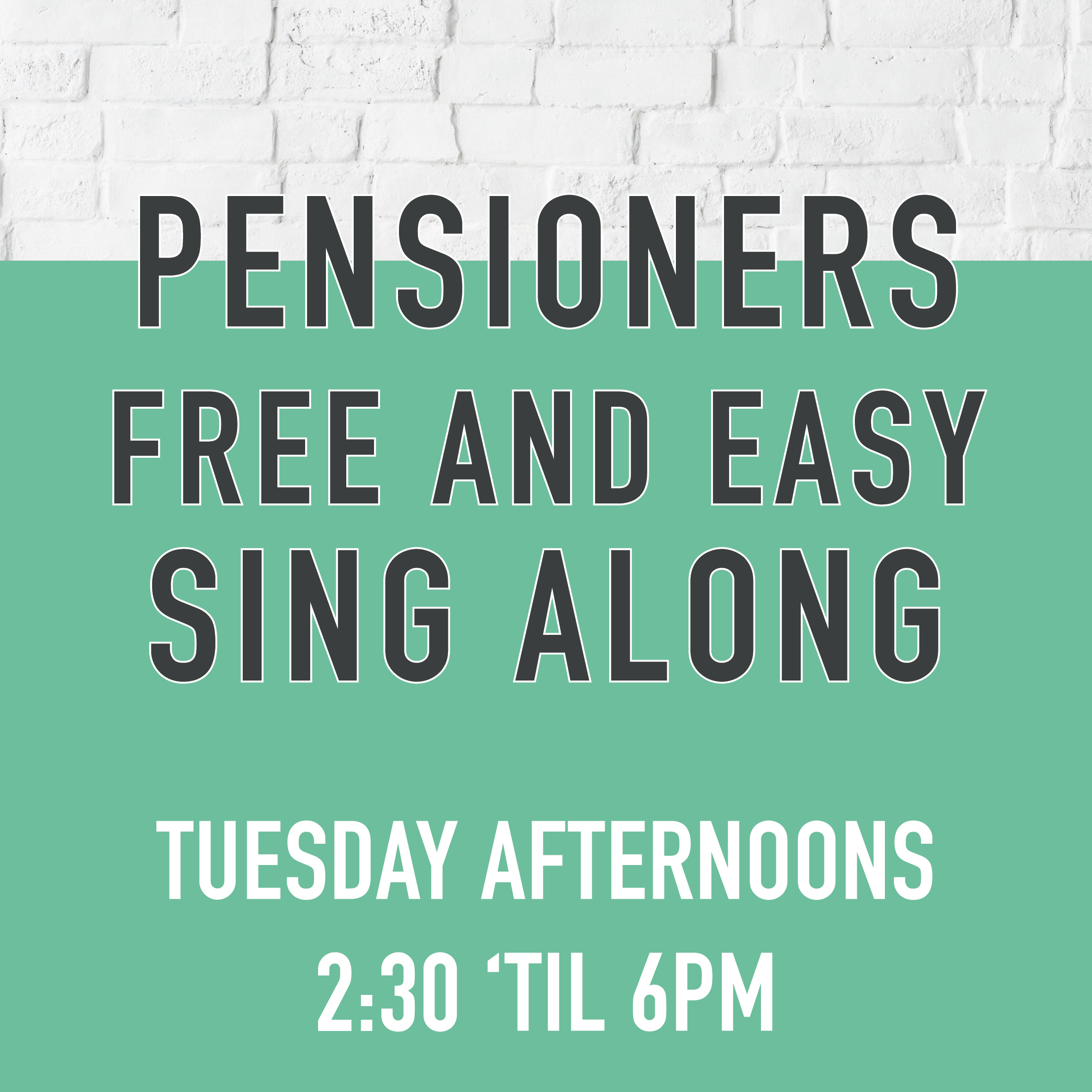 Bluebell Moston Pensioners Singalong