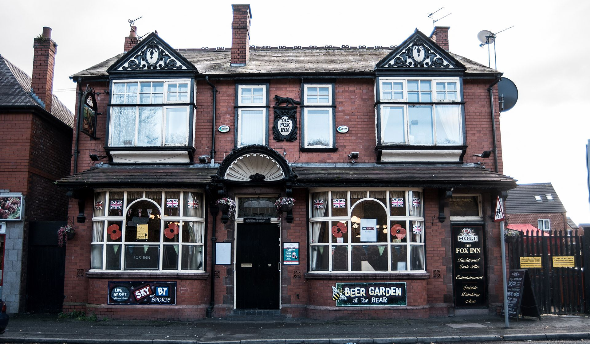 fox inn pub in blackley