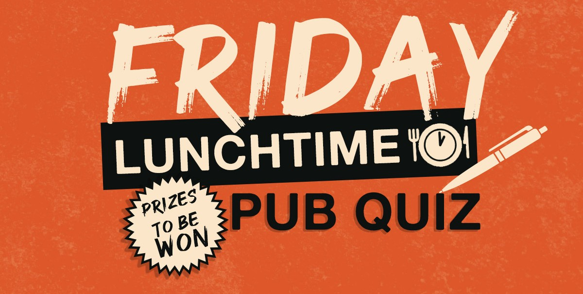 Friday pub quiz header