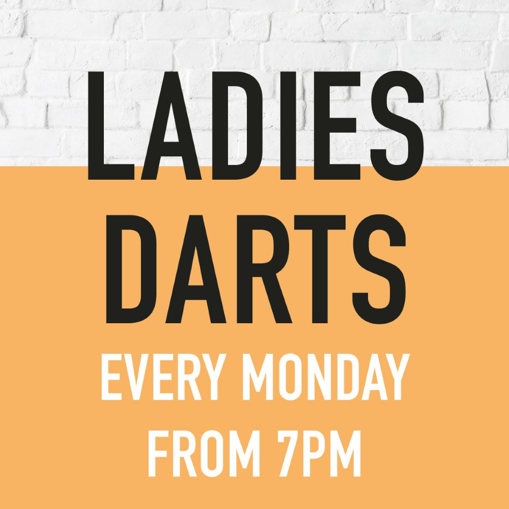 Ladies Darts gardeners arms