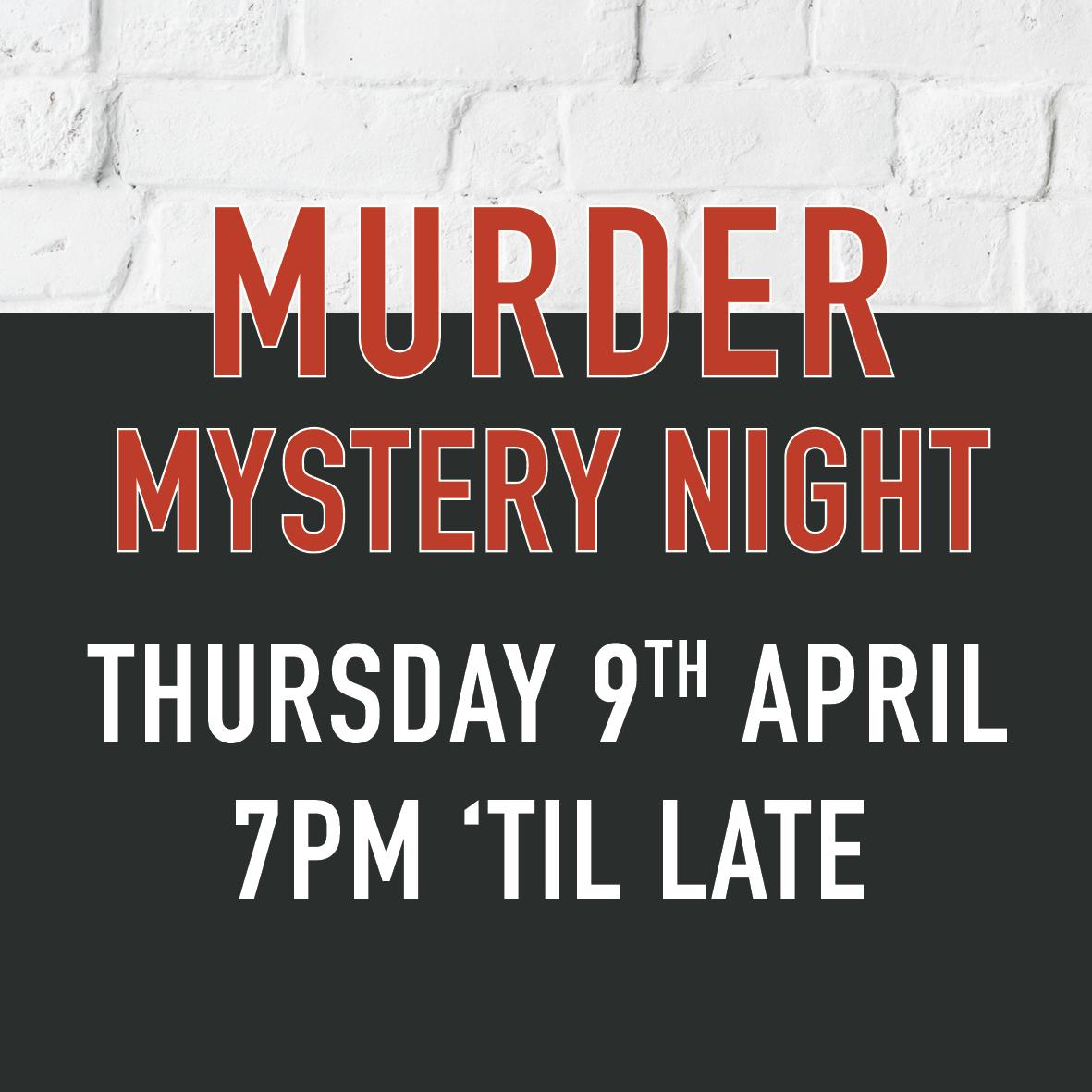 Murder Mystery night roebuck