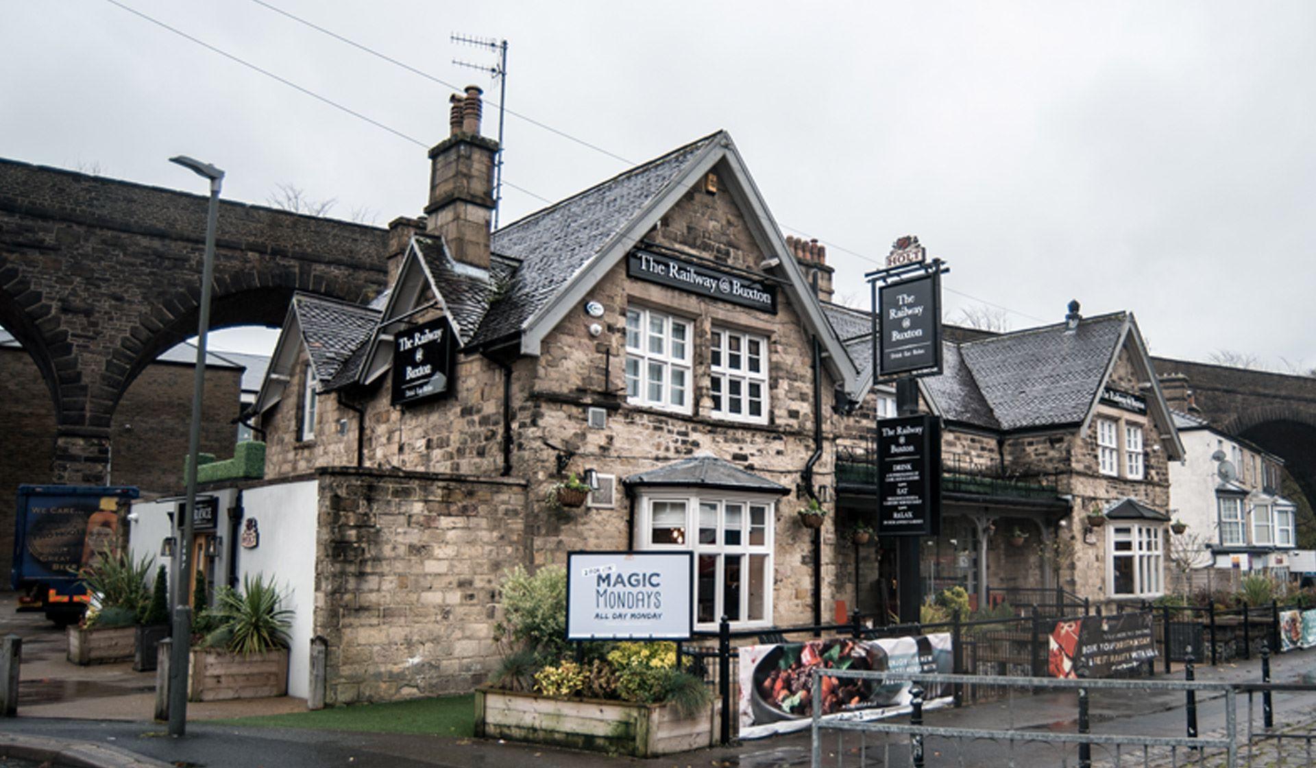 the railway pub in buxton