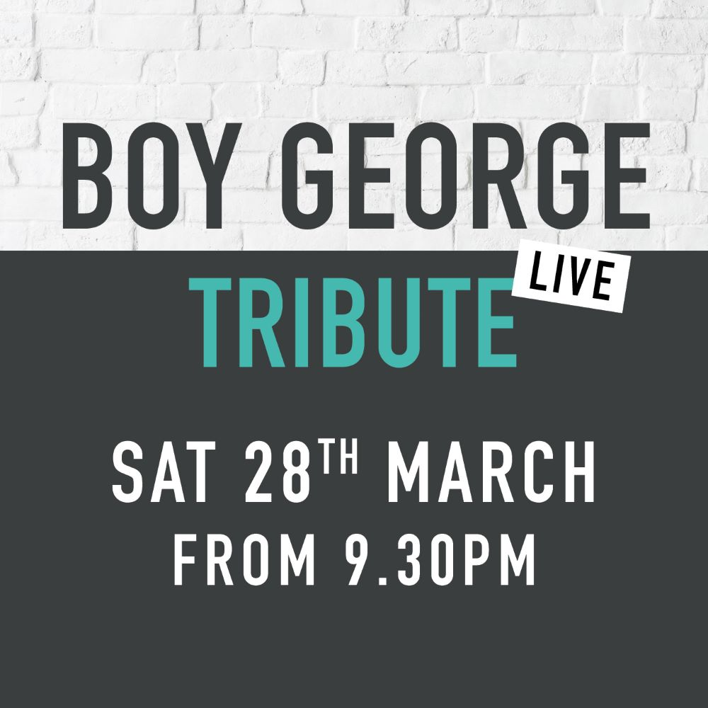 Sidings events boy george march