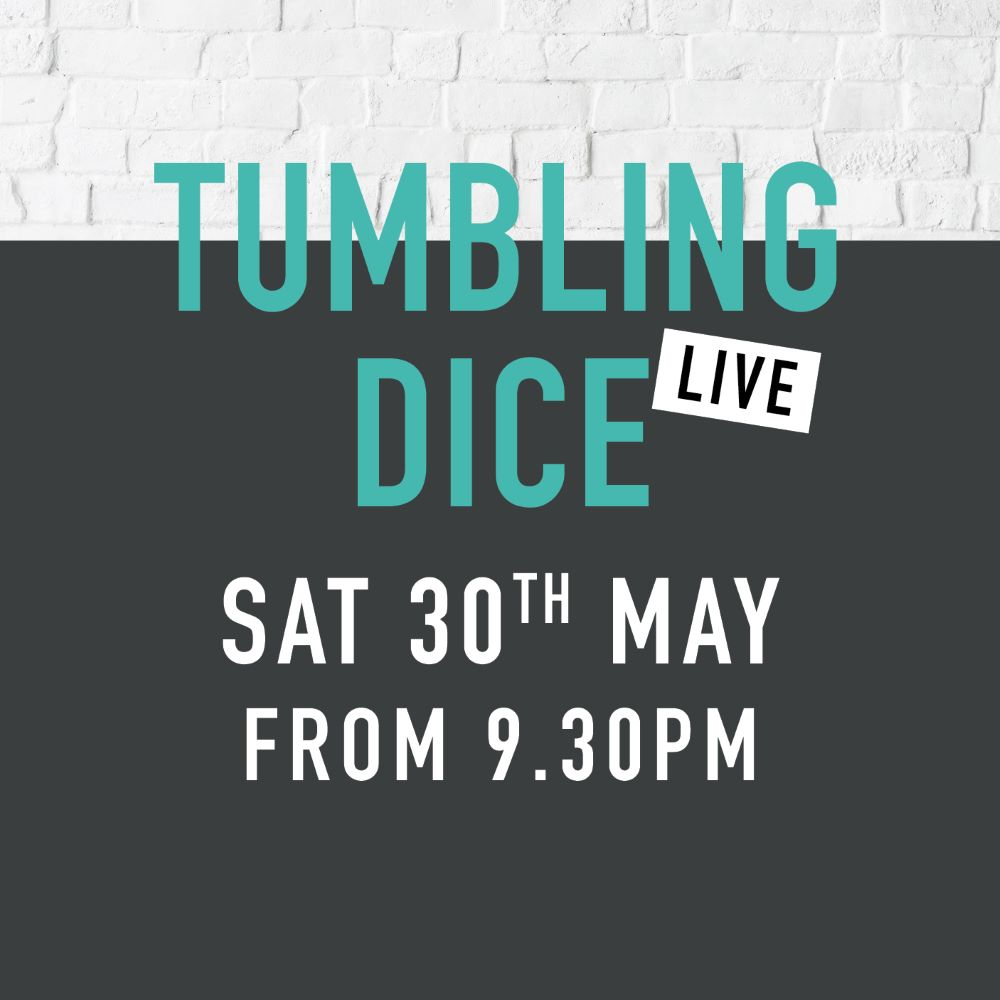 Sidings events tumbling dice may