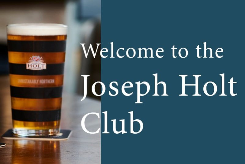 welcome to the joseph holt club