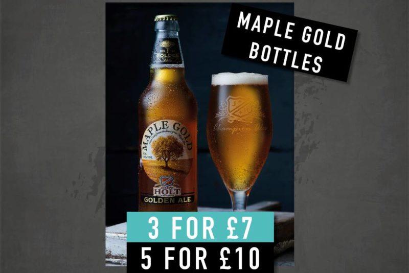 maple gold bottle offer