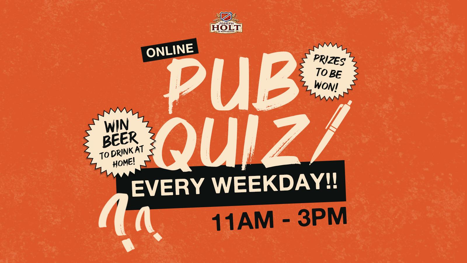 Everyday Pub Quiz Joseph Holt