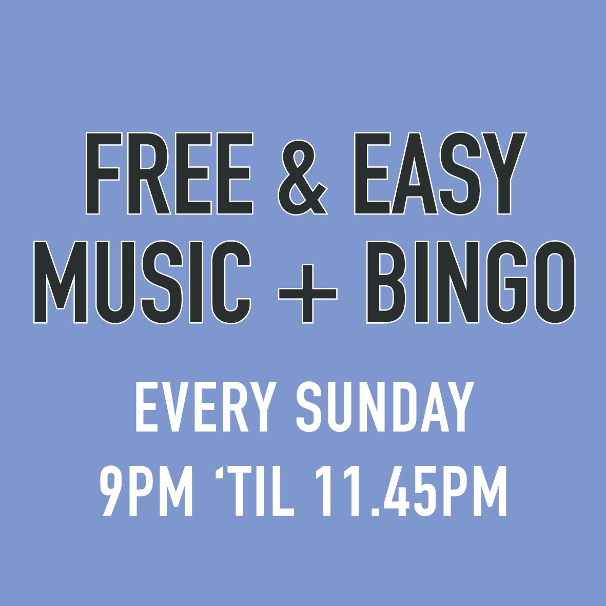 Free & Easy Music Night church inn