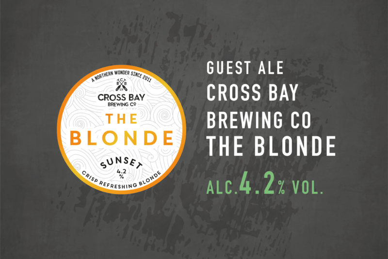 cross bay brewing the blonde