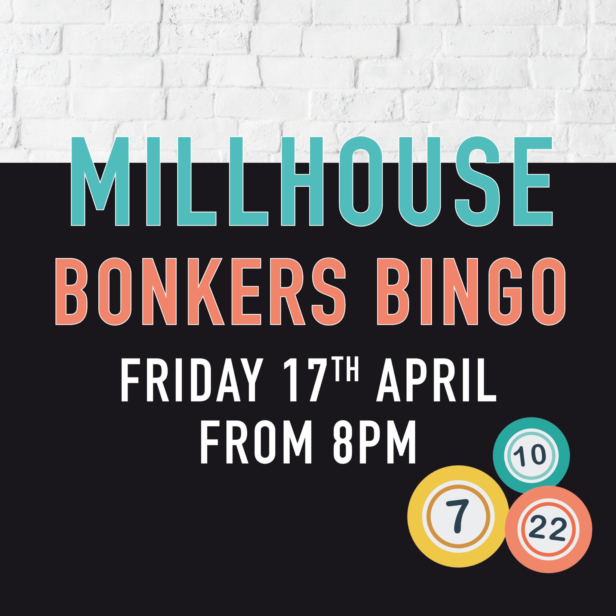 Millhouse Bonkers Bingo Millhouse