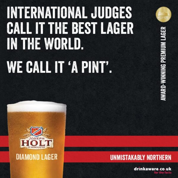 diamond lager international judges award