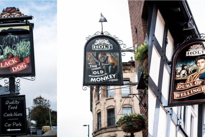 joseph holt pub signs of pub names