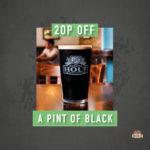 march drink offer - 20p off black