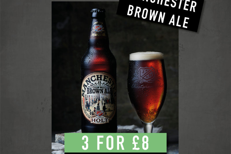 march drink offer manchester brown ale