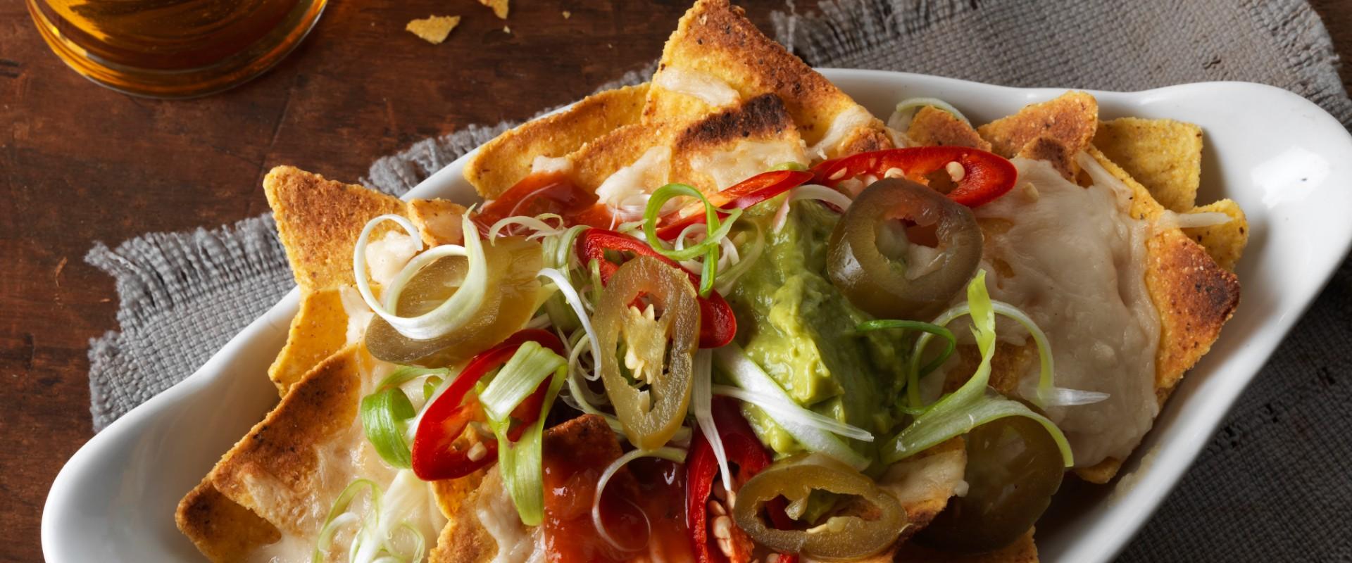 vegan nachos and beer joseph holt