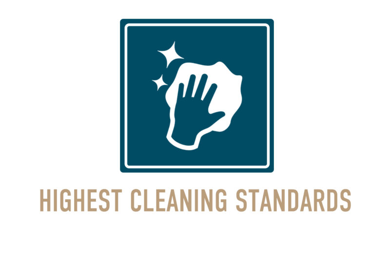 Highest cleaning standards logo