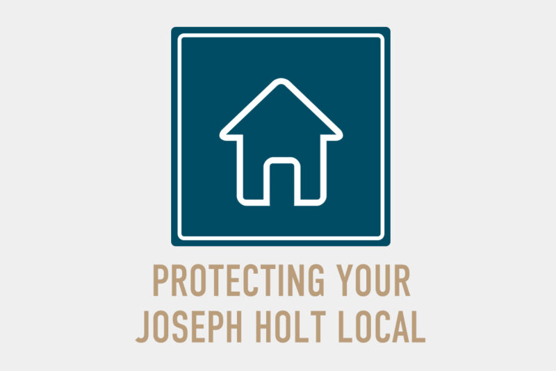 Protecting jospeh holt local grey