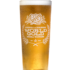 World Gold joseph holt pint lager Glass