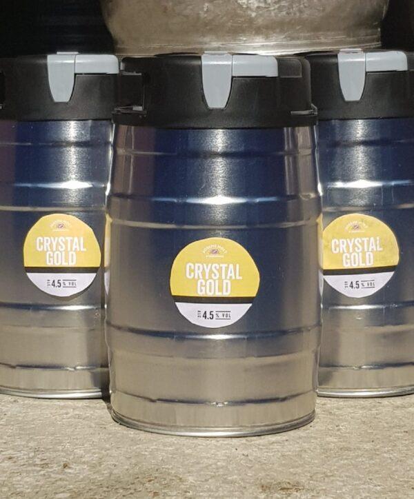 crystal gold mini keg 960x796