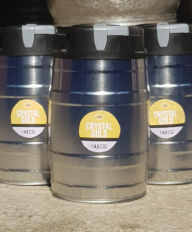 crystal gold mini keg 960x796