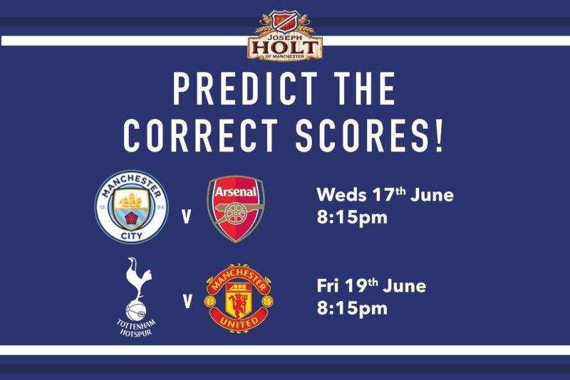 score predictions - 17th june