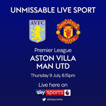 9 july villa vs united