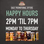 northgate pub happy hour offer