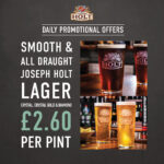 northgate draught beer offer
