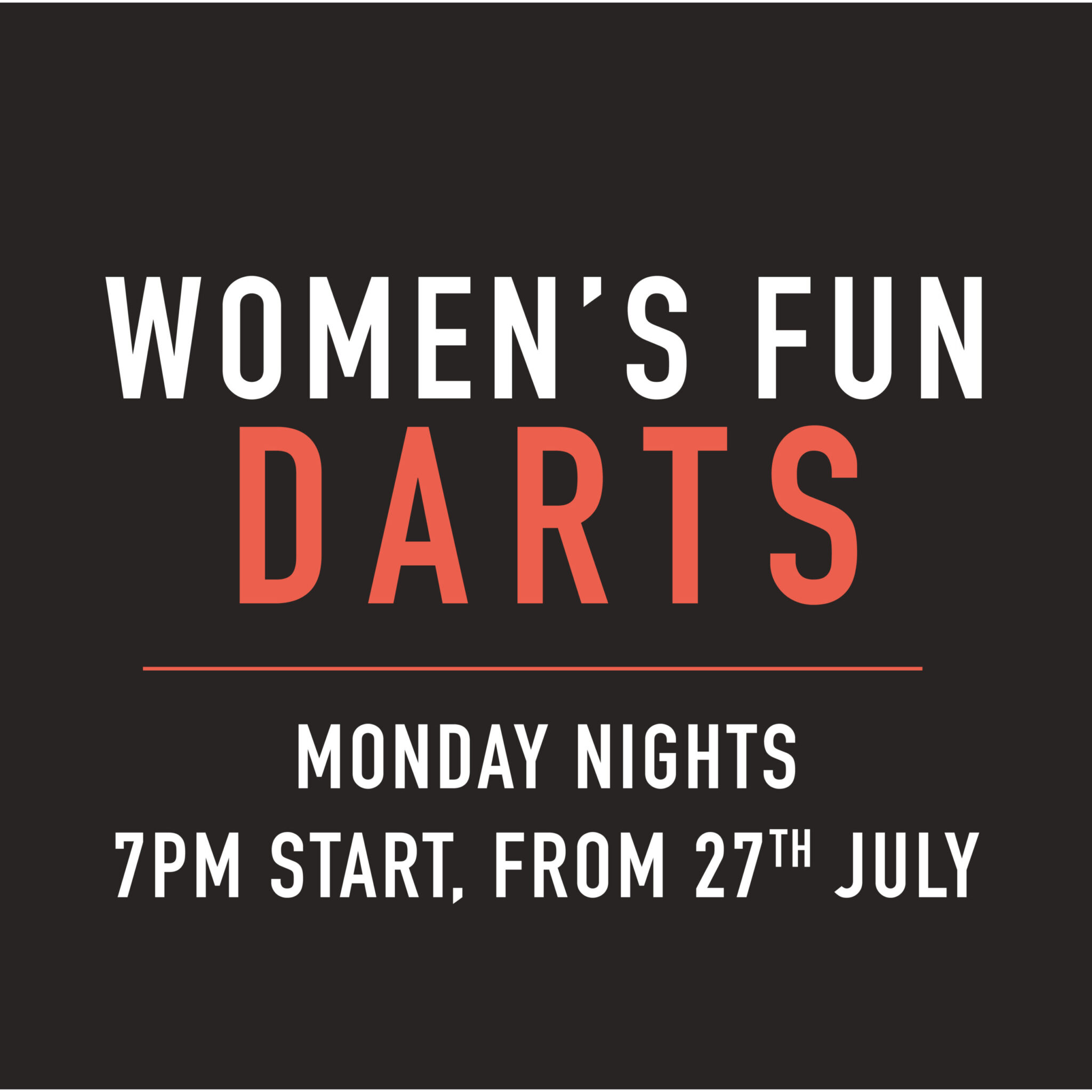 Womens Darts Mondays The Bradford