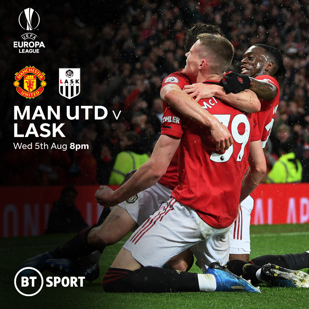 man united vs lask