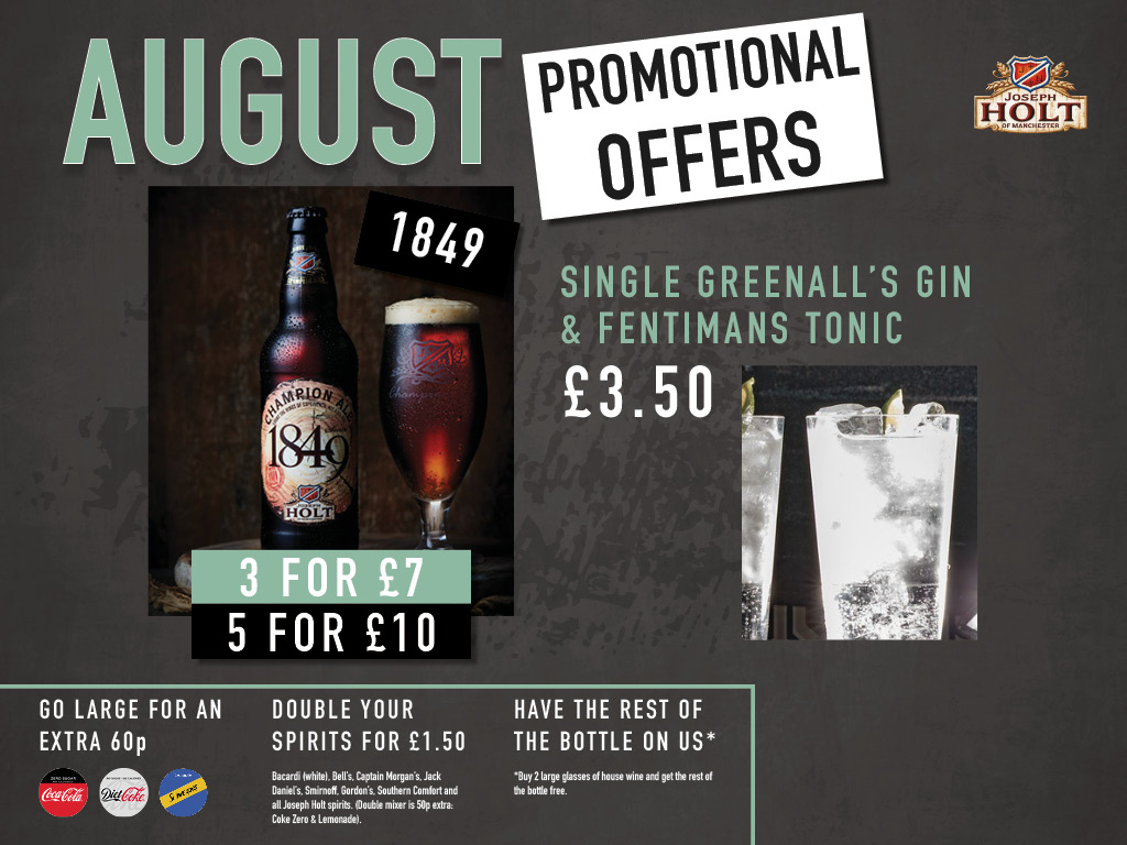 august monthly pub offers joseph holt