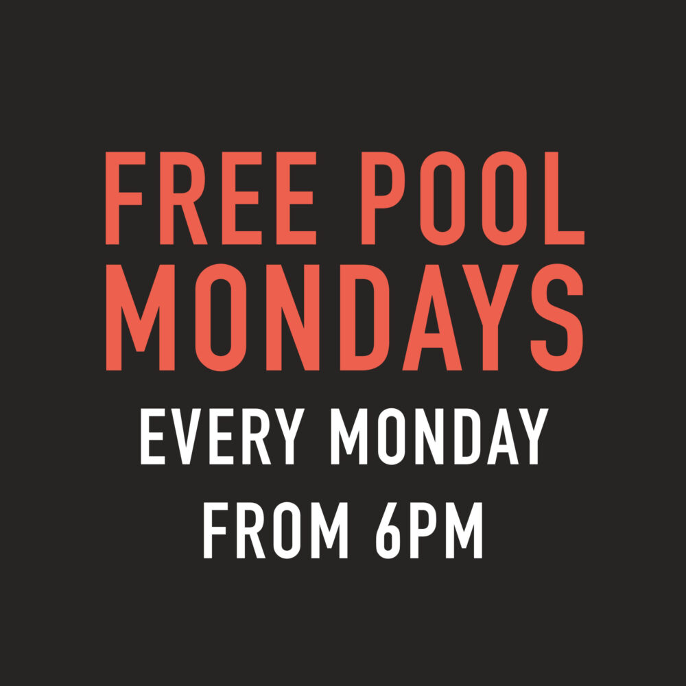 free pool mondays grey horse