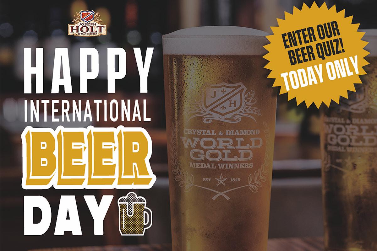 international beer day quiz image