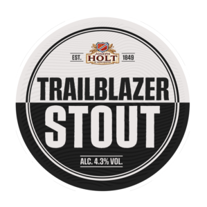 trailblazer stout joseph holt pump clip badge