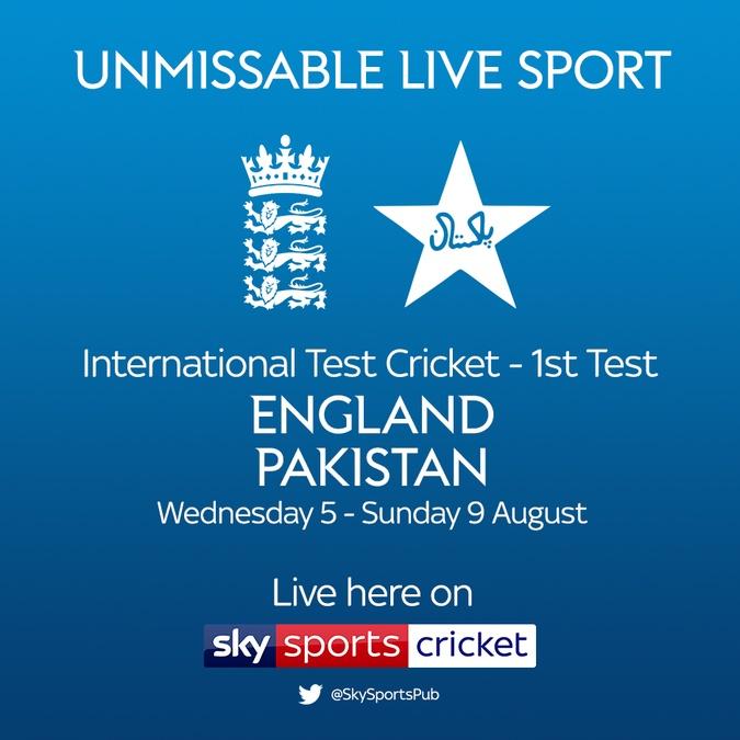 england vs pakistan test cricket