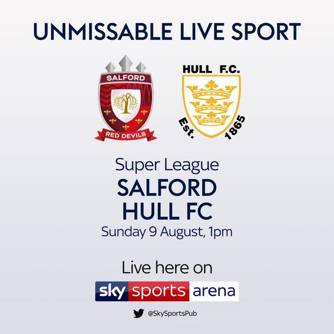 salford vs hull fc super league