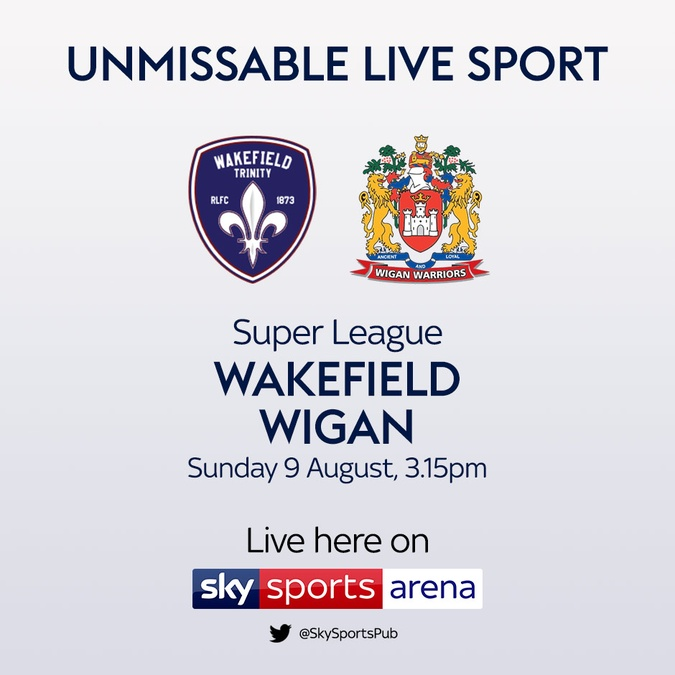 wakefield vs wigan rugby league