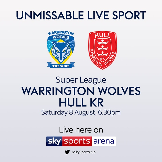 warrington vs hull kr super league