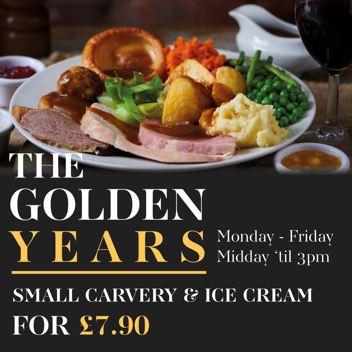 Bowling Green Carvery Golden Years