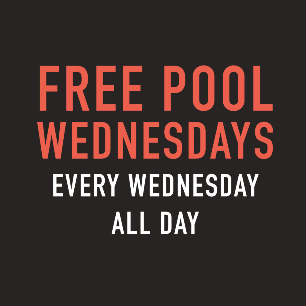 Free Pool Weds Grafton arms