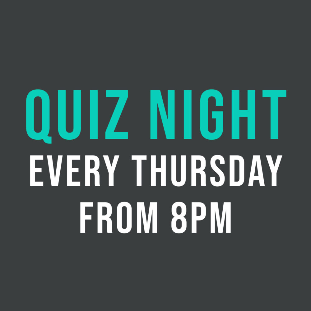 Quiz Night Thurs Grafton arms