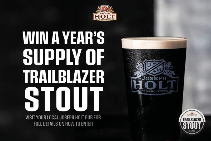 win a year's supply of trailblazer stout