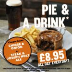 Pie and a drink food offer tier 3