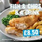 fish and chips and a drink food offer tier 3