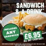 sandwich and drink food offer tier 3