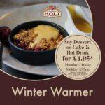 winter warmer food offer tier 3